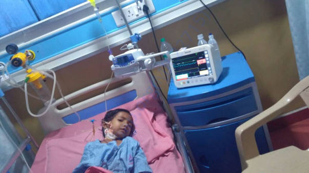 Pavithra in ICU